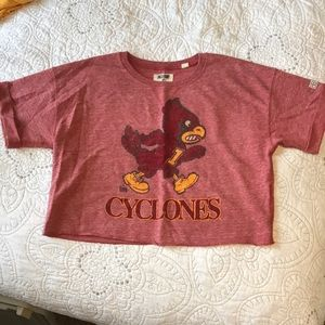 Iowa State Cyclones sweatshirt Crop top